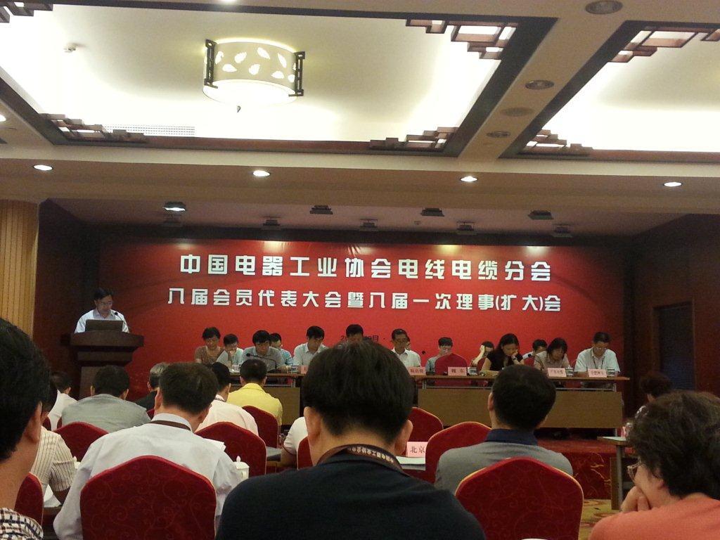 我公司被选为中国电器工业协会电线亚搏手机版分会理事单位